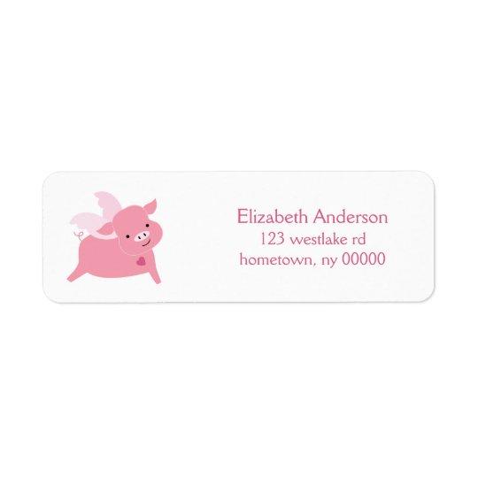 Étiquette Petit jour de Valentines doux de porc