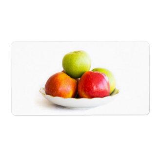 Étiquette Pommes