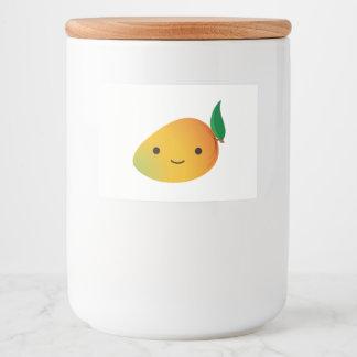 Étiquette Pour Bocaux Mangue mignonne