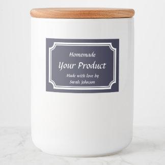 Étiquette Pour Bocaux Pot de maçon de mise en boîte imprimé par coutume