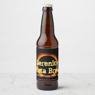 Étiquette Pour Bouteilles De Bière Hors de l'étiquette de bouteille à bière d'éclipse