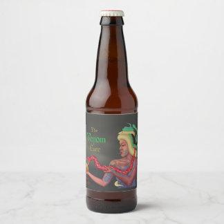 Étiquette Pour Bouteilles De Bière Le traitement de venin (nom et style)