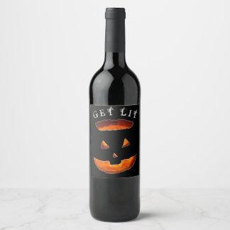 Étiquette Pour Bouteilles De Vin Halloween drôle