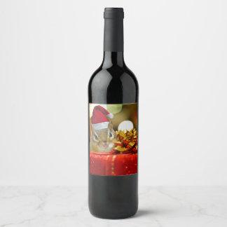 Étiquette Pour Bouteilles De Vin Joyeux Noël de tamia mignonne