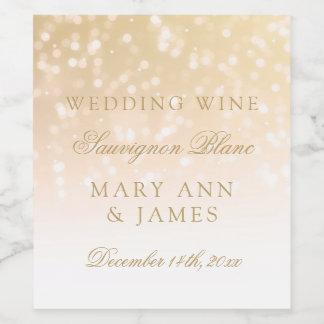 Étiquette Pour Bouteilles De Vin L'étiquette de vin de mariage rougissent des
