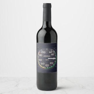 Étiquette Pour Bouteilles De Vin Mesure de vitesse anémométrique