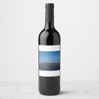 Étiquette Pour Bouteilles De Vin Trop loin pour s'élever