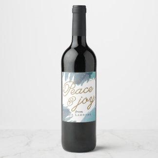 Étiquette Pour Bouteilles De Vin Vacances Cerulean