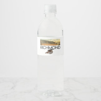 Étiquette Pour Bouteilles D'eau ABH Richmond