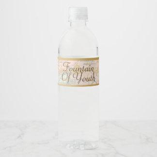 Étiquette Pour Bouteilles D'eau Fontaine d'homme d'étiquette de bouteille d'eau de