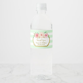 Étiquettes bouteilles d'eau