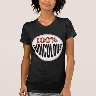 Étiquette ridicule t-shirt
