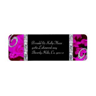 Étiquette Roses assez roses et épouser de remous de diamant