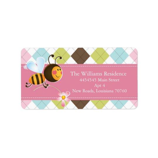 Étiquette Saint-Valentin de la mine | d'abeille (meilleure