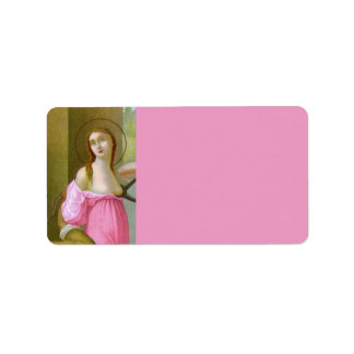 Étiquette St rose Agatha (M 003)