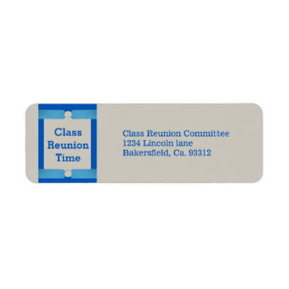 Étiquette Starburst et Réunion de classe d'école de points