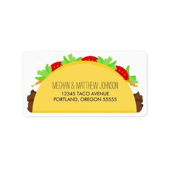 Étiquette Taco