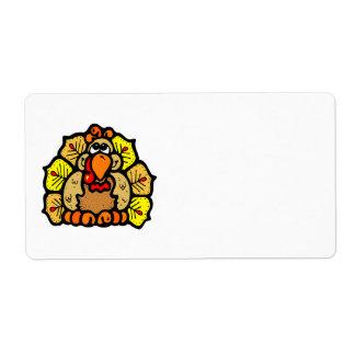 Étiquette Thanksgiving Turquie