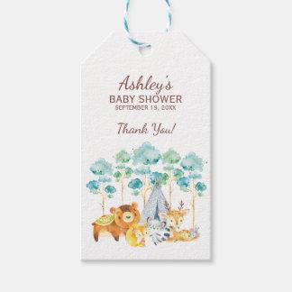 Étiquette tribale de cadeau de faveur de baby