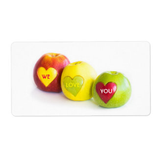 Étiquette Trois pommes