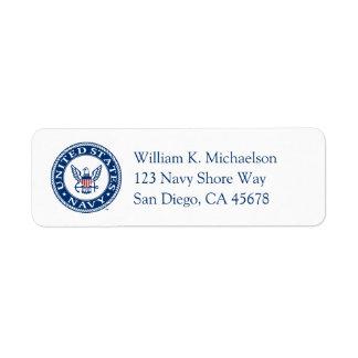 Étiquette U.S. Emblème de la marine alt de la marine |