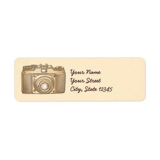 Étiquette Vieil appareil-photo