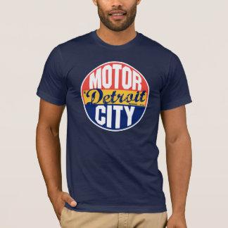 Étiquette vintage de Detroit T-shirt