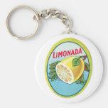 Étiquette vintage de Limonada Porte-clés