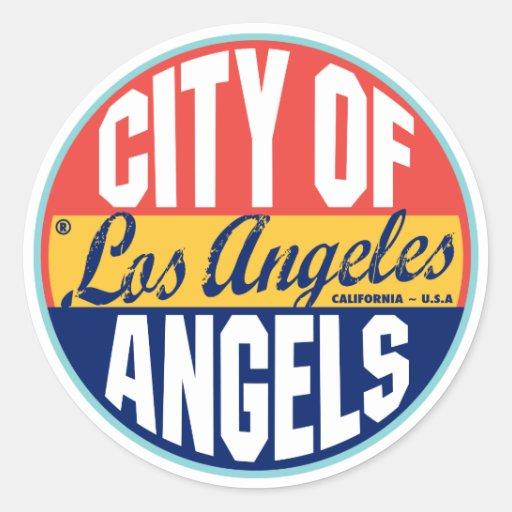 Étiquette vintage de Los Angeles Adhésifs