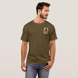 Étiquette vintage de vieux genièvre de Tom T-shirt