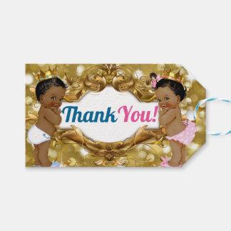 Étiquettes africaines de Merci de prince/princesse