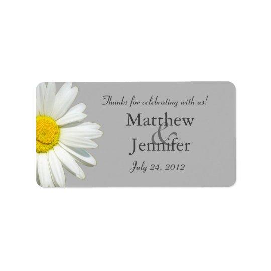 Étiquettes/autocollants de faveur de mariage de étiquette d'adresse
