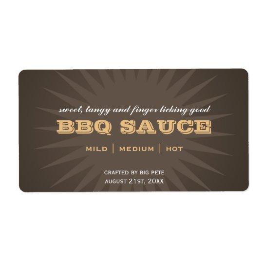 Étiquettes bruns occidentaux d'autocollant de cuis