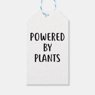 Étiquettes-cadeau Actionné par des plantes