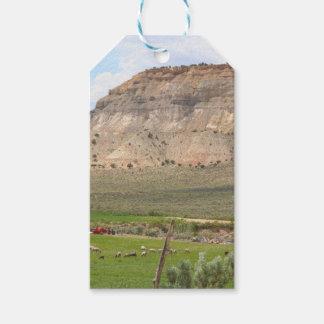 Étiquettes-cadeau Agriculture du pays et des collines, l'Utah du sud