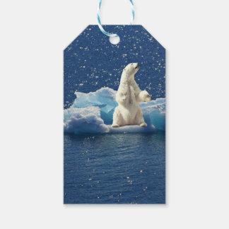 Étiquettes-cadeau Ajoutez le SLOGAN pour sauver la glace arctique de