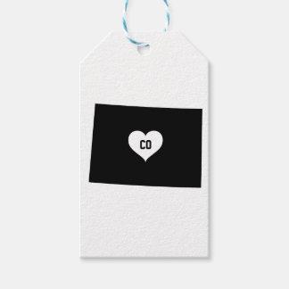 Étiquettes-cadeau Amour du Colorado