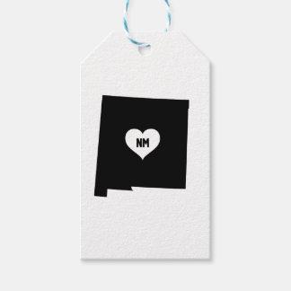 Étiquettes-cadeau Amour du Nouveau Mexique