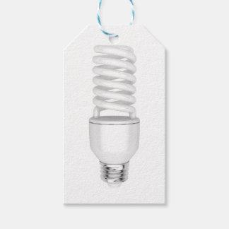 Étiquettes-cadeau Ampoule fluorescente