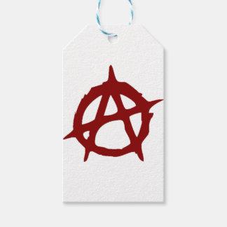 Étiquettes-cadeau Anarchie - UNE : Copie