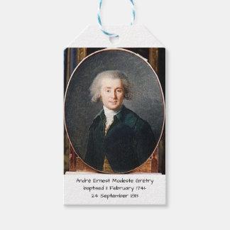 Étiquettes-cadeau André Ernest Modeste Gretry