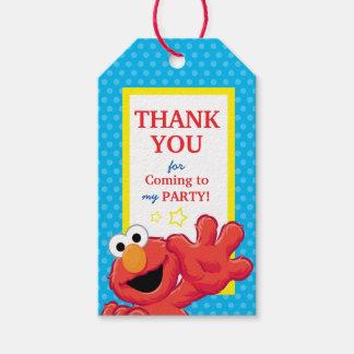 Étiquettes-cadeau Anniversaire extrême d'Elmo