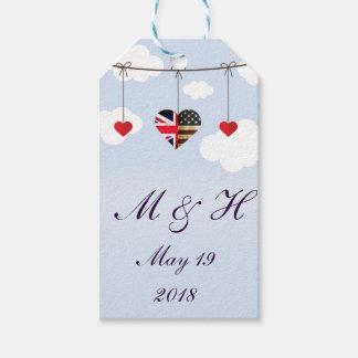 Étiquettes-cadeau Approvisionnements royaux de cadeau de noce