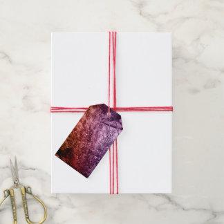 Étiquettes-cadeau Arrière - plan acrylique frais de texture