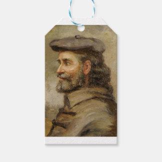 Étiquettes-cadeau ART | Robert P. Kilbert (autoportrait)