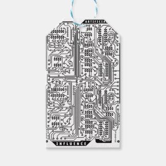 Étiquettes-cadeau Artificiel-Influence