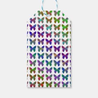Étiquettes-cadeau Bonheur de papillon