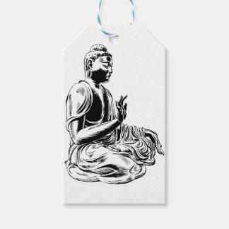 Étiquettes-cadeau Bouddha