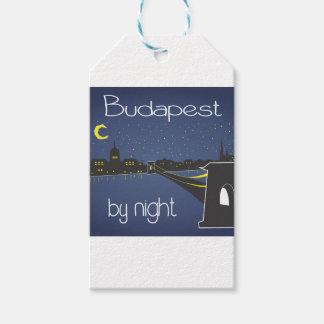 Étiquettes-cadeau Budapest By Night