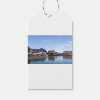 Étiquettes-cadeau capitale caudan de bord de mer de Port-Louis le de